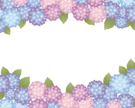 hortensias de fondo