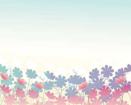 cosmos background Stock Vector - 12482180