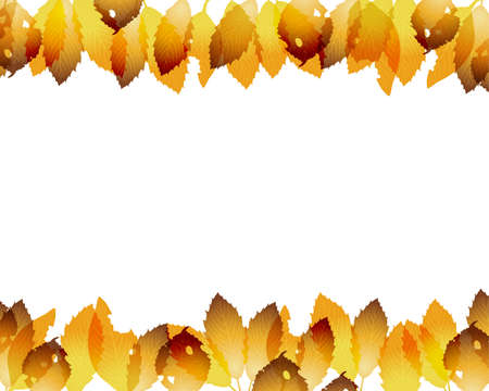fallen leaves background Stock Vector - 12482755
