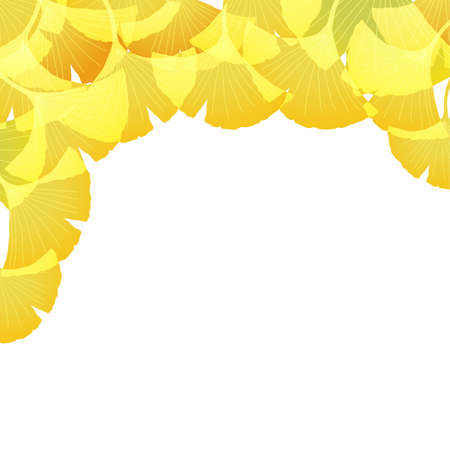 ginkgo background Stock Vector - 12482397