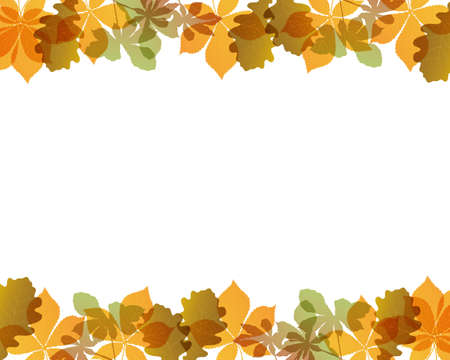 colored leaves background Stock Vector - 12482694