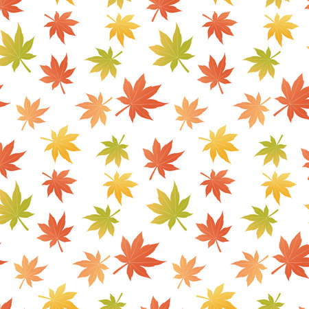 maple seamless background Vector