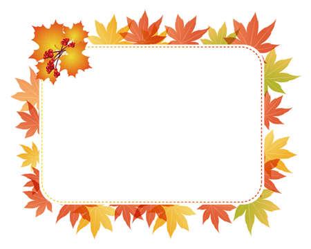 maple card Stock Vector - 12482315