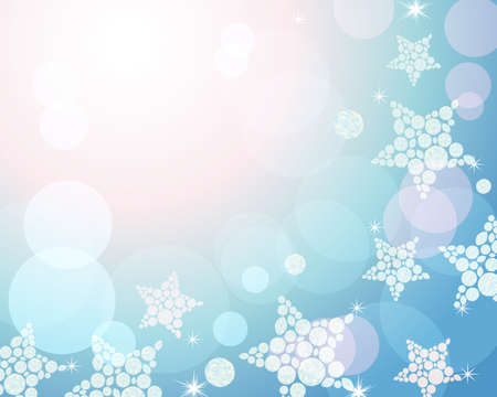 star decoration background Vector
