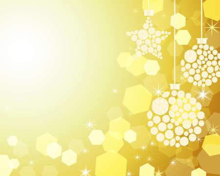 diamond clip art: christmas decoration background Illustration