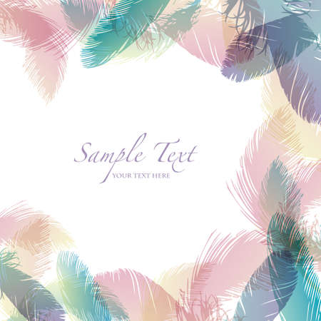 feather background Vector