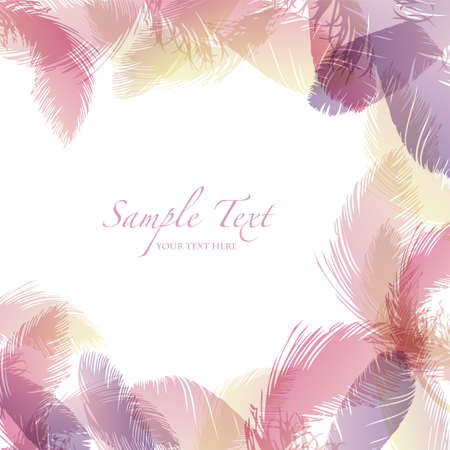 bridal: feather background
