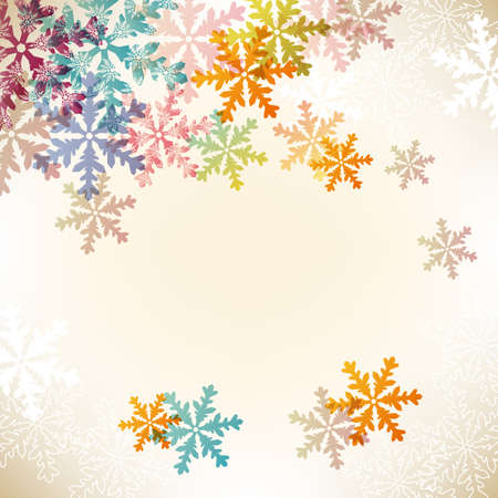 colorful crystal background Vector