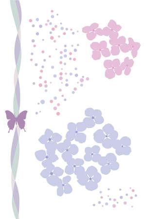 rainy flower Stock Vector - 12539934