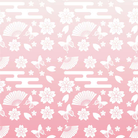 early spring: spring pattern Illustration