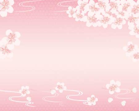 subject matter: spring flower background Illustration