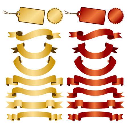 set of ribbon