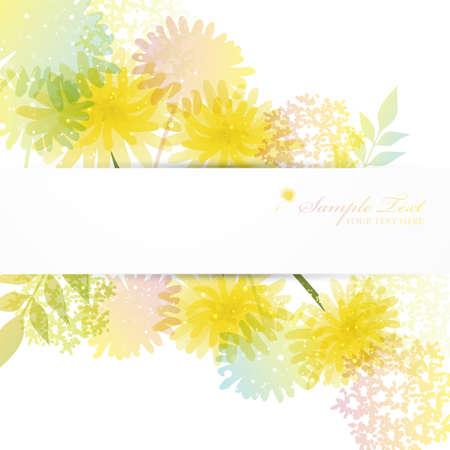 bg: dandelion background