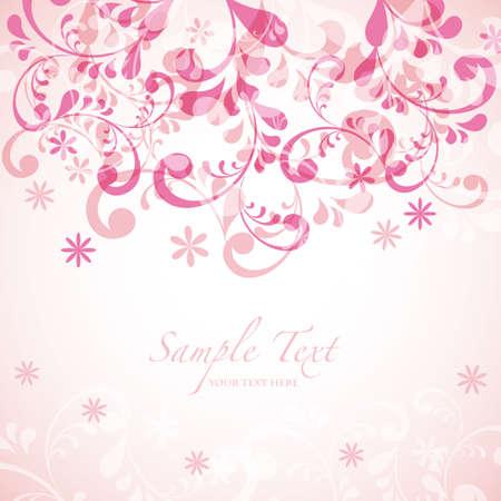 抽象的な背景がピンク  イラスト・ベクター素材