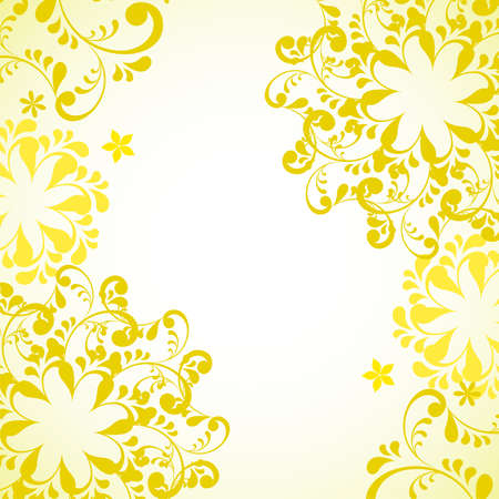 grace: abstract yellow background