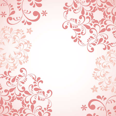 simple purity flowers: abstract pink background