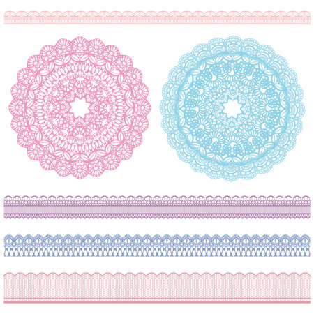 lacework: lace and doily
