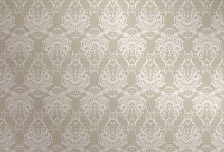 silver wallpaper Stock Vector - 12940374