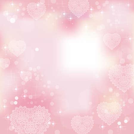 valentine s card: heart background