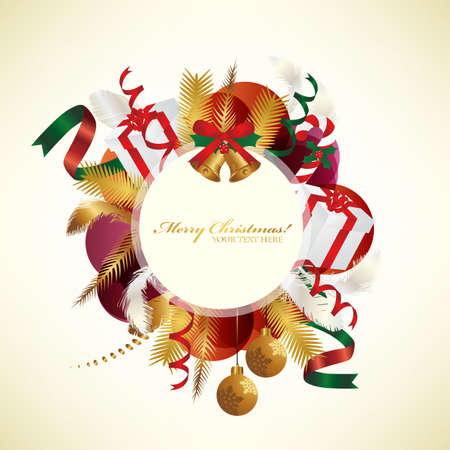 banner of christmas Vector
