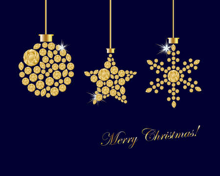 christmas ornament background Stock Vector - 13178609