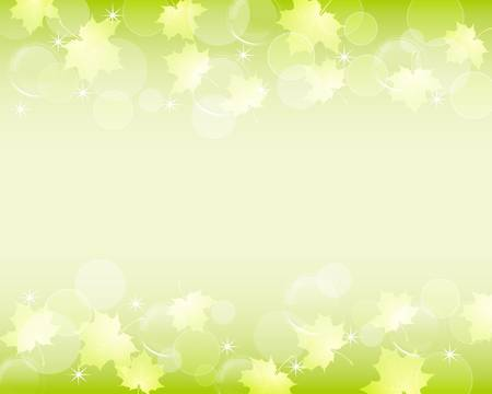 green leaves background 向量圖像