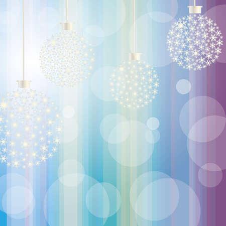 crystallization: christmas ornament stripe background