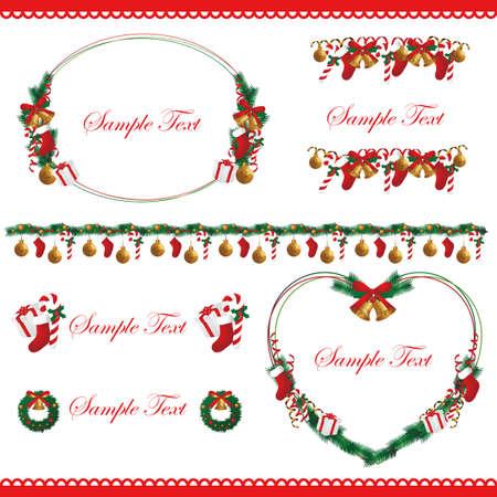 christmas frame set