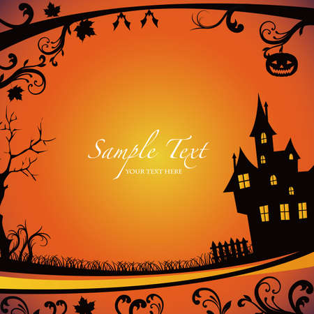 Halloween background Stock Vector - 13341391