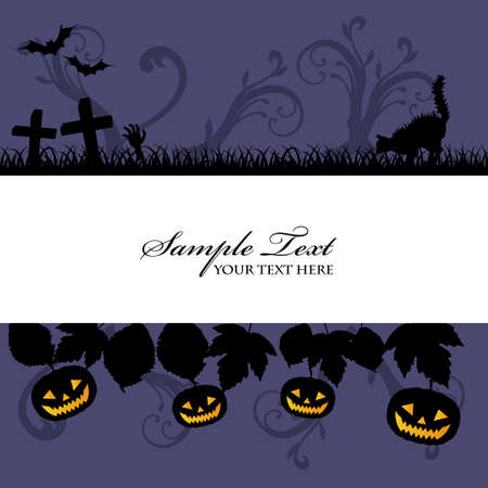 Halloween background Stock Vector - 13341397