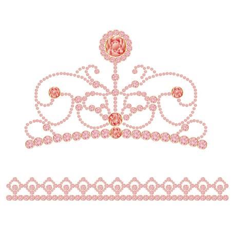 tiara: jewelry crown