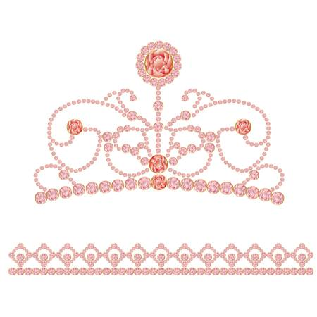 decorative accessories: jewelry crown