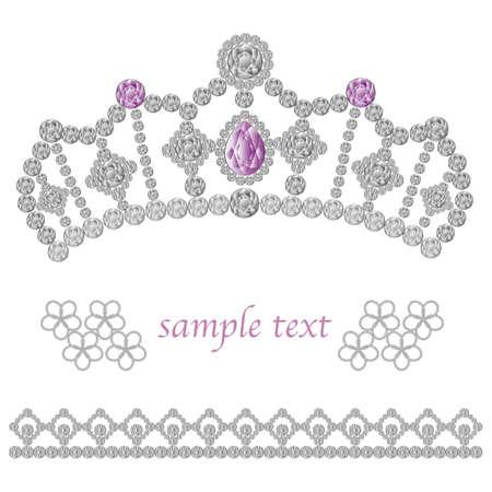 diadema: joyas de la corona