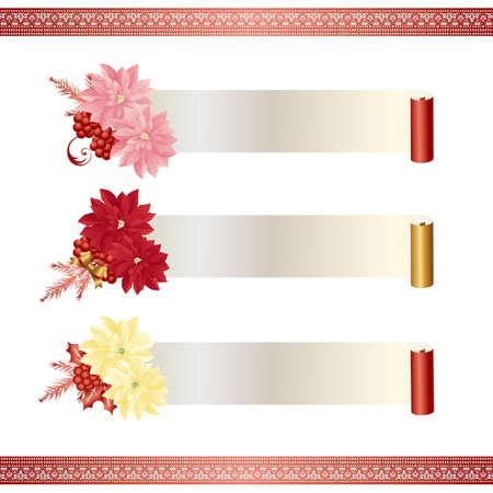 poinsettia: poinsettia banner