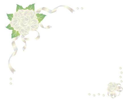 rose bouquet  イラスト・ベクター素材