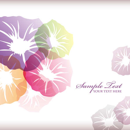 morning glory background Stock Vector - 13693036