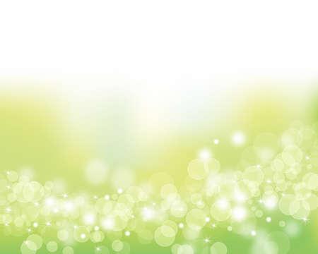 brightness: green shines background