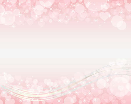 heart shines background Vector