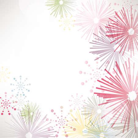 fireworks background Stock Vector - 13934512