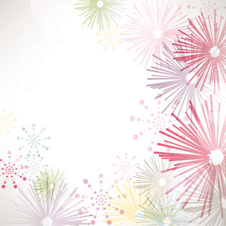 fireworks background Stock Vector - 13934512