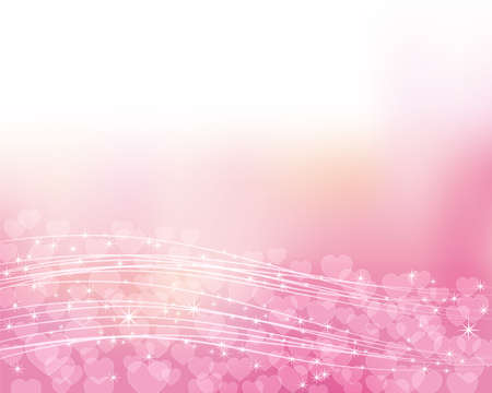 heart shines background Stock Vector - 13979385
