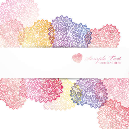 gradation: heart background