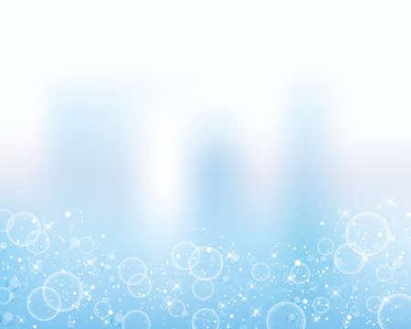water background  イラスト・ベクター素材