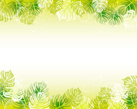 monstera background Stock Vector - 14465100