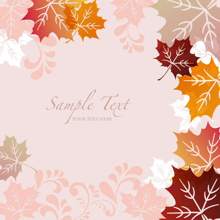 maple background Stock Vector - 14644432