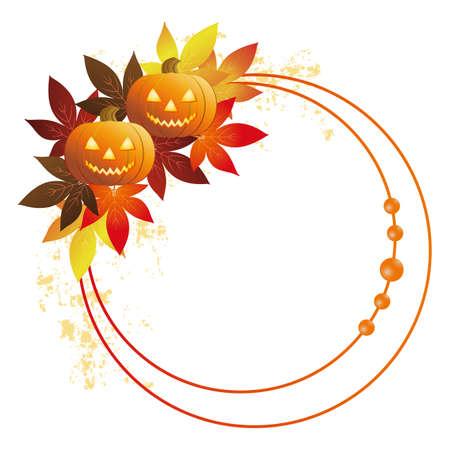 Halloween frame 向量圖像