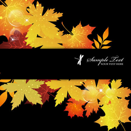 maple background Stock Vector - 15216023