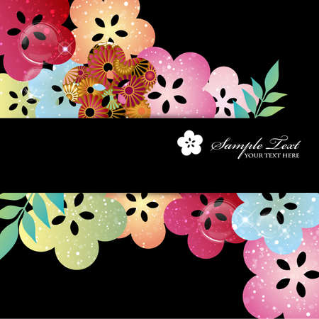 auspicious: japanese auspicious background Illustration
