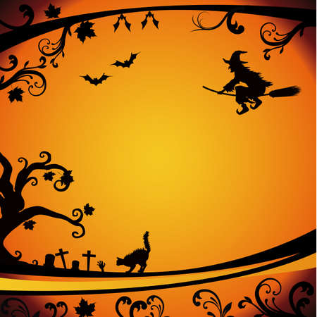 chauves-souris: Halloween background