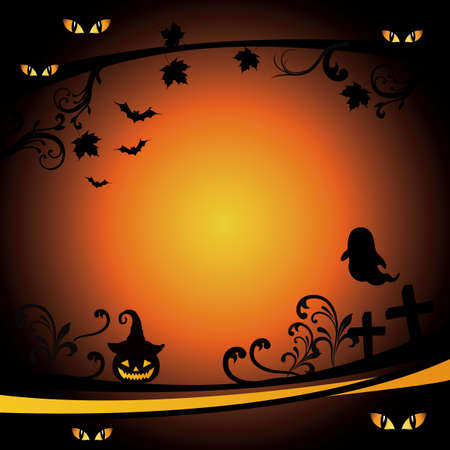 Halloween background Stock Vector - 14990402
